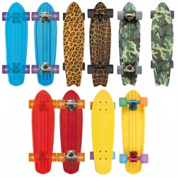 「GLOBE」のスケートボードでカラフル&アクティブな秋を! FQ