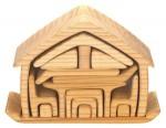 ケーファー おうちの積み木 ナチュラル 7,350円 おもちゃ箱