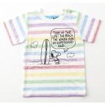 Stomp StampスヌーピーマルチボーダーTシャツ¥3,780ストンプ・スタンプ©year Peanuts Worldwide