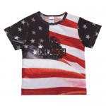 "XLARGE®KIDSS/S TEE ""USA""¥5,940X-girl Stages AOYAMA"