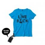 yporque(イポルケ)Live Rock Tee(ライブロック サウンドTシャツ)¥5,460KU KID'S STYLE