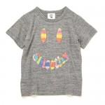 SMOOTHYハンドステッチスマイルTシャツ¥6,048チャールス