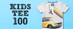 アートな子供Tシャツ100選