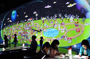 「3Dお絵かきタウン」チームラボ,2004