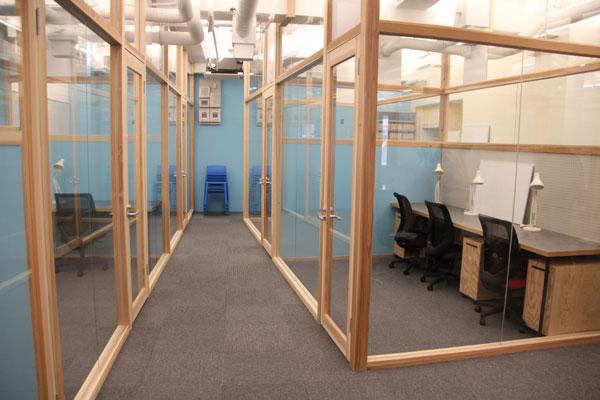 陽当たりの良い独立型オフィススペース