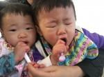 06「歯ブラシ突っ込み過ぎて、双子兄オェっ」
